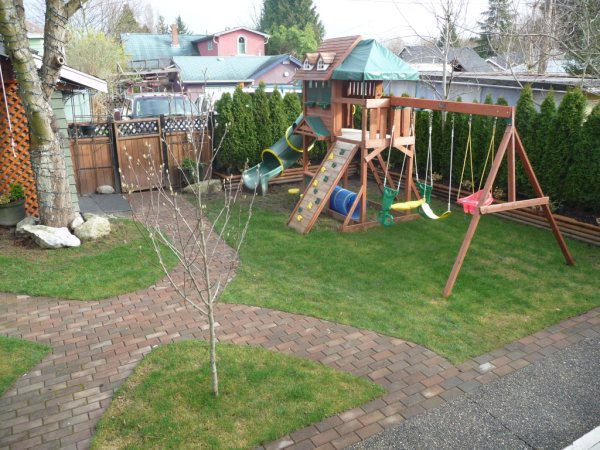Residential Landscaping Kids Play Area