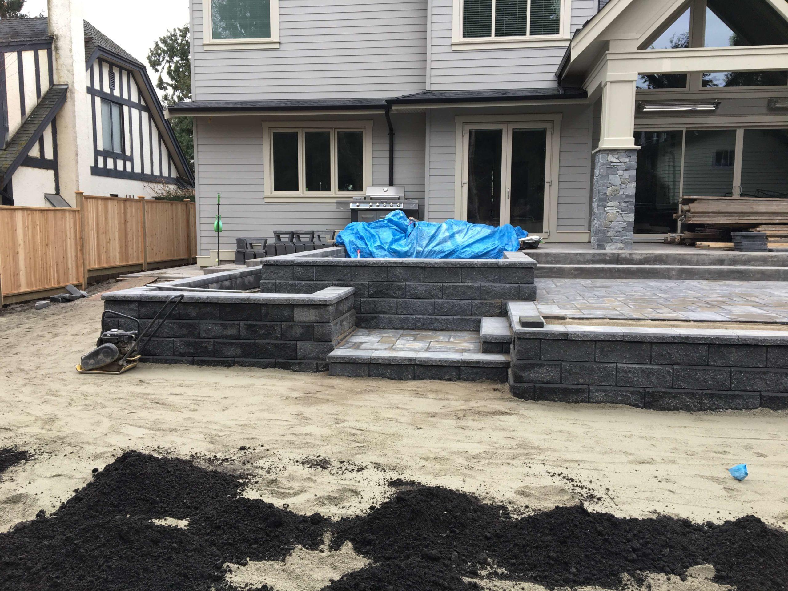 corner house front yard landscaping