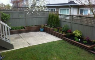 Multi Tiered Landscape Garden After