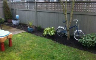 Multi Tiered Landscape Garden Before